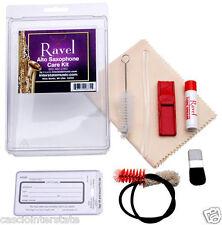 Ravel #375 Alto Saxophone Care & Cleaning Kit