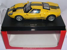 AUTOART 13082  SLOT CAR FORD GT  2003  YELLOW    ROAD CAR  MB