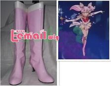 Japanese Anime Sailor Moon Chibi Usa Pink Girls Cosplay shoes boots Customized