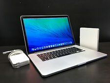 "Apple MacBook Pro 15"" RETINA OSX-2015 / 1 Year Warranty / New Screen / 512GB SSD"
