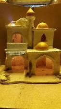 presepe stile arabo artigianale san gregorio crib aldo  40X30 H45CM CON LUCE