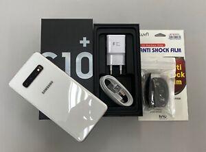 Samsung Galaxy S10+ White SM-G975N 512GB Unlocked Single sim Very Good condition