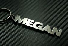 MEGAN Personalised Name Keyring Keychain Key Fob Bespoke Stainless Steel Gift