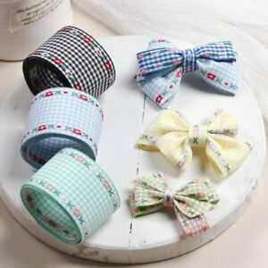 5 yards Lace Jacquard Clothing Trims Embroidery Ribbon DIY Bow Hair Accessories