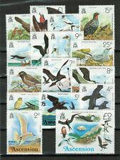Ascension 1976 QEII Birds set complete very fine used. SG 199-214.