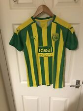 Puma West Bromwich Albion 2019/20 Away Shirt Size 13-14 Years New With Tags