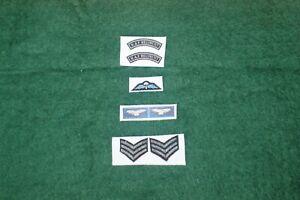 1/6 scale British RAF Regiment Patch lot