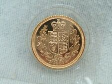 More details for 2002 shield back half sovereign---uncirculated
