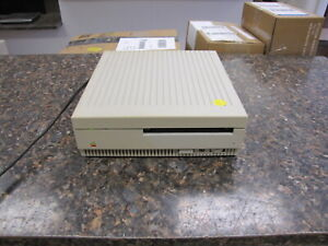Vintage Apple AppleCD SC M2850 External SCSI CD Drive USA - Great Tested Working