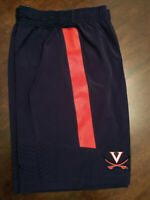 NWT Virginia UVA Cavaliers Football Team Issued Nike Blue Logo Shorts 2XL