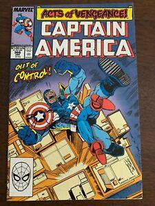 Captain America #366 (Jan 1989, Marvel) 1st Ron Lim art NM