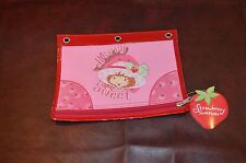 STRAWBERRY SHORTCAKE Zippered Pencil Pouch NEW WITH TAGS Notebook Berry Sweet
