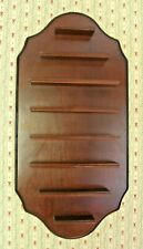 8 Tier Wooden Display Shelf for Thimbles or Other Small Collectibles