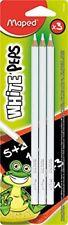 Maped blister de 3 Crayons blancs pour Ardoise White'peps 855