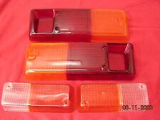 * RENAULT R12 front & taillight lenses 4 PIECES  NEW RECENTLY MADE