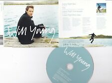 WILL YOUNG ~ Leave right now ~ 3 tracks + Video CD single ~ 2003