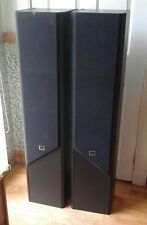 CR STACCATO PAIR OF TALL, FLOOR STANDING SPEAKERS