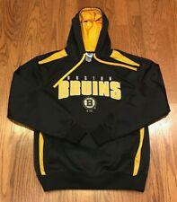 Boston Bruins NHL Hockey Hooded Hoodie Long Sleeve Sweatshirt Sweater Medium