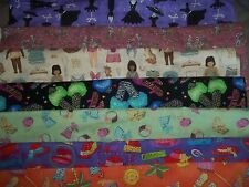 GIRL clothing ACCESSORIES Shoes COTTON FABRIC U-Pick READ 4 INFO 1/2 yd HALF YDS