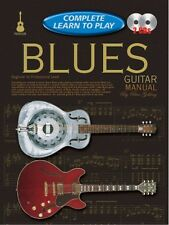 COMPLETE LEARN TO PLAY Blues Guitar Manual + CD*