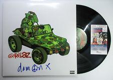 Damon Albarn Signed Autographed GORILLAZ S/T Vinyl Album PROOF JSA Authenticated