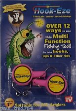 HOOK-EZE New, Un-opened 2pk Choice of Colors. Hookeze Safety Tying Device