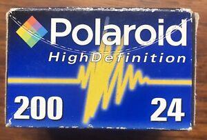Polaroid High Definition 200 - 24 Exp Film Expiry  2005