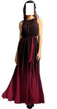 Apart Chiffon Abend Kleid schwarz-rot Gr. 42, Gr. 44 0319874947