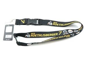 STEELERS BEN ROETHLISBERGER NFL Official Licensed Football Player Action Lanyard