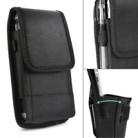 Large CellPhone Universal Phone Pouch Belt Clip Vertical Holster Carrying Case