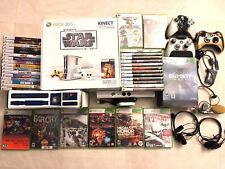 Microsoft Xbox 360 S Kinect Star Wars Limited Edition 320 GB w 35 Games & EXTRAS