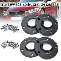 4x 10mm 5x120 PCD Hubcentric Hub Wheel Spacers For BMW 1 3 5 7 Series AU