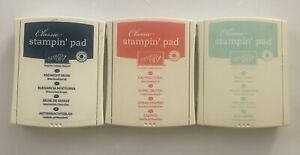 Stampin' Up! Ink Pads Lot Of 3