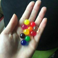 50 PCS Large Jumbo Aqua Balls Giant Orbeez Magic Garden Water Beads Jelly Yard