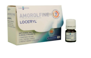 Loceryl 5% nail laquer for fungal treatment nail care FREE SHIPPING