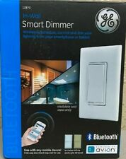 GE Bluetooth Smart In Wall WHITE Smart Dimmer 13870 New