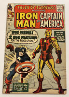 TALES OF SUSPENSE #59 (MARVEL 1964) FN/VF 7.0 CAPTAIN AMERICA / IRON MAN BEGINS!
