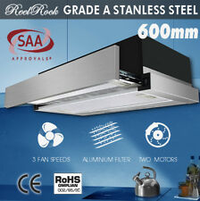 ReelRock Rangehood Range Hood Stainless Steel Kitchen Canopy 60cm 600mm
