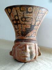 grand vase précolombien en terre cuite
