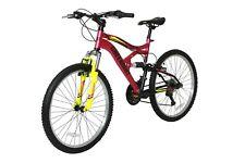 "Full Suspension Mountain Bike | MTB  Bicycle  | Bike 17"" Frame | 24"" Wheels"