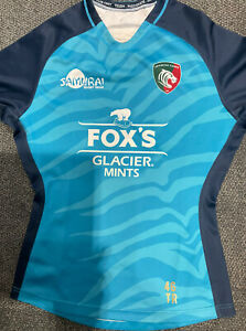 Leicester Tigers Tommy Reffell Rugby XL Shirt