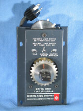 Vintage General Radio Drive Unit Type 1521-P10-B NOS