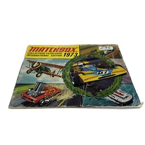 Vintage 1973 Matchbox Collectors Toy Catalog 80 Page Booklet Guide, Cars Planes