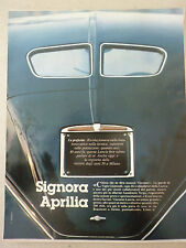 ARTICOLO SIGNORA APRILIA - MOLTE FUORISERIE   --  1982