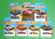 Various Years - Hot Wheels - McLaren - Lot of 7 - w/ Forza Edition - -