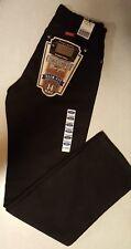 NWT Womens Junior 11x32 Western Wrangler Cowboy Cut Slim Fit Black Jeans 14MWZWK
