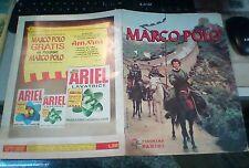Album MARCO POLO - EDIZIONI PANINI 1982 con 155 figurine