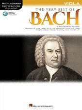 The Very Best of Bach Instrumental Play-Along for Viola New 000225379