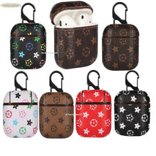 Luxury AirPods Leather Case Protective Skin Cover For Apple AirPod 2,1  Earphone