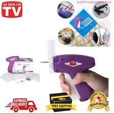 Price Tag Attacher Gun For Clothing Standard Attach Pricing Business Clothes New
